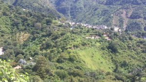 From Casa Del Mundo, this is where we hiked to.